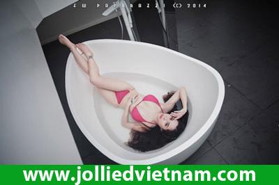 Hotgirl Linh Jollie - Chinh phục giấc mơ làm đẹp cho phái đẹp